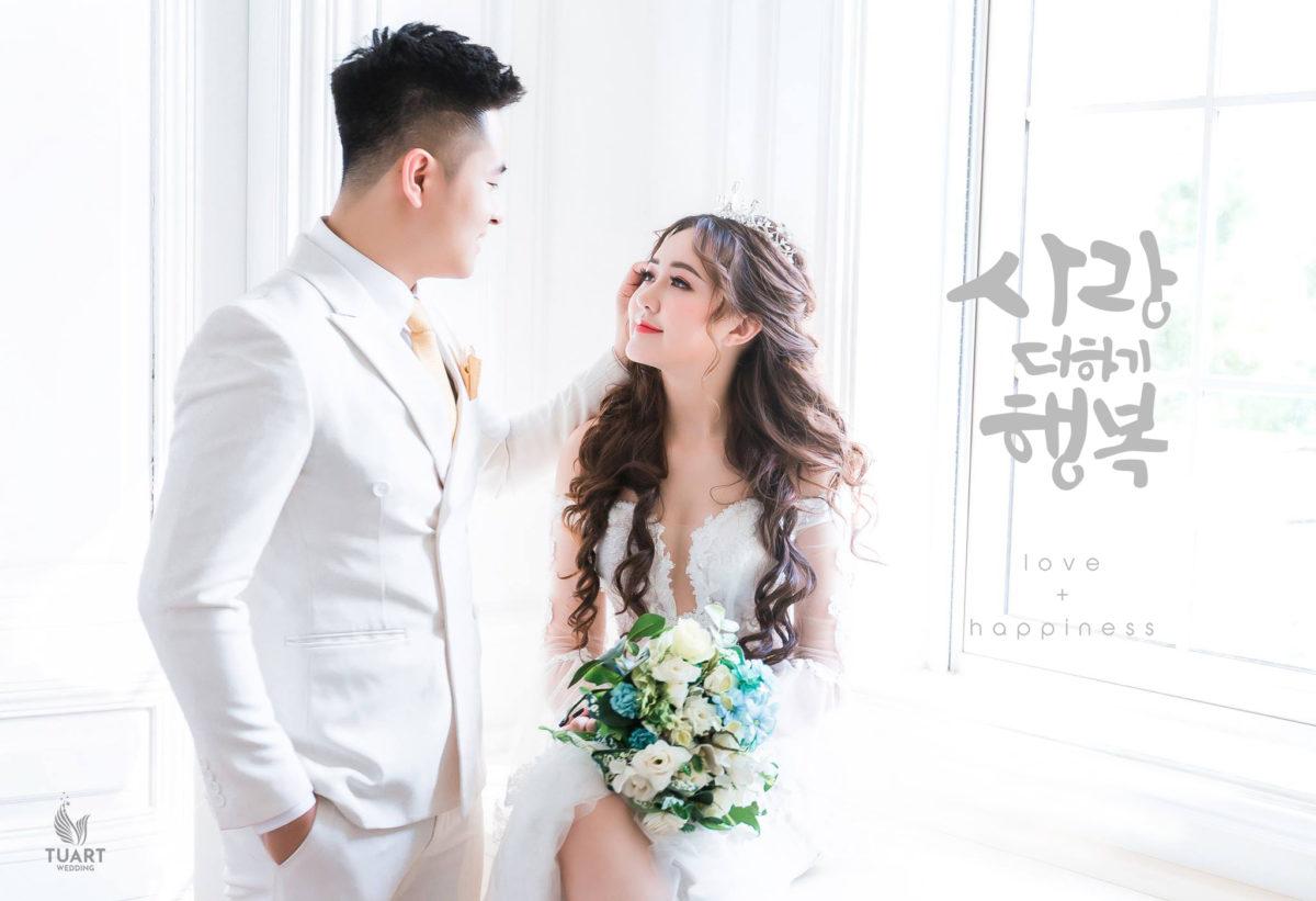 Kinh nghiệm chụp ảnh cưới phong cách Hàn Quốc đẹp