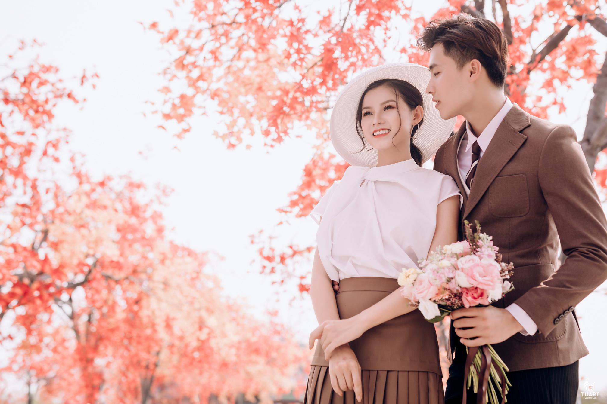 Tư vấn địa điểm chụp ảnh cưới đẹp mùa xuân tại Hà Nội