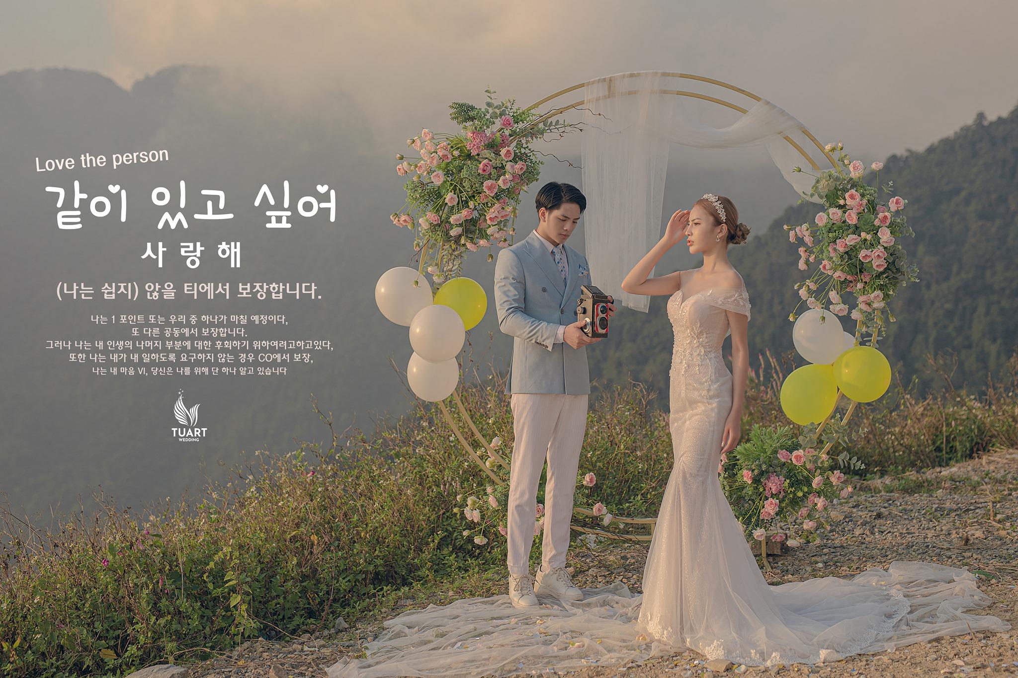 Album chụp ảnh cưới đẹp Tam Đảo